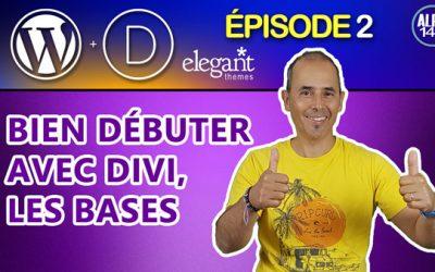 Bien débuter avec le Divi Builder d'Elegant Themes, les bases | Tutoriel débutant Divi WordPress