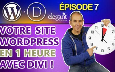 Faire un site Internet WordPress en 1 heure avec Divi | Tutoriel débutant