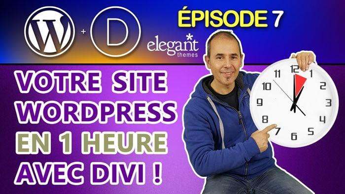 Votre site internet rapidement avec Divi
