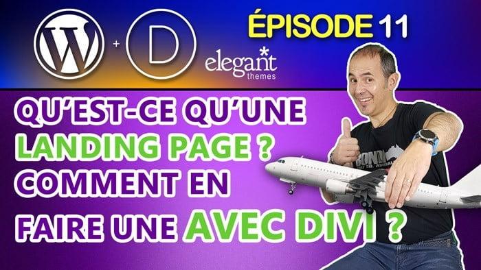 Landing page Divi
