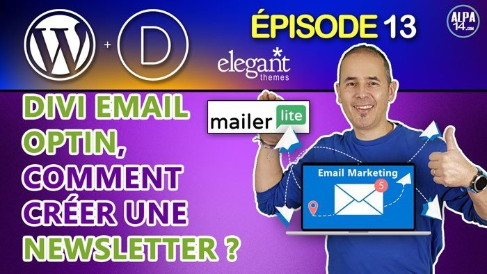 Créer un Newsletter avec Divi et MailerLite