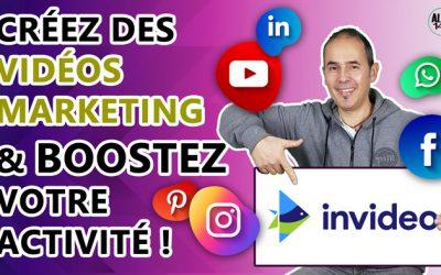Comment créer facilement en ligne une vidéo marketing ? | Tutoriel Invideo