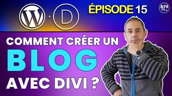 Créer un Blog avec Divi