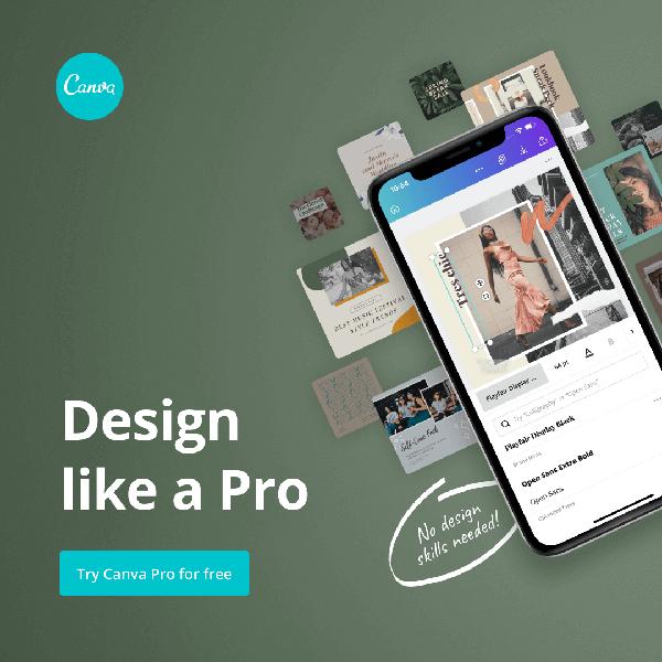 Canva design lilke a pro