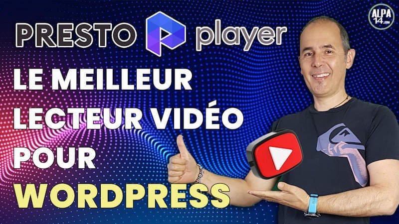 Presto Player, le meilleur lecteur vidéo pour WordPress